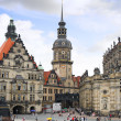Old Town a Dresden, Germany. — Stock Photo