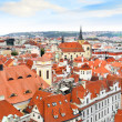Prague Panorama view , Prague - Stock Photo