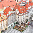 Staromestska's Square.View from Tower's top.Prague — Stock Photo #6596220
