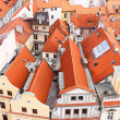 Staromestska;s Square.View from Tower;s top.Prague — Stock Photo