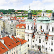 Staromestska's Square.View from Tower's top.Prague — Stock Photo #6596223
