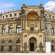 Opera House of the Saxon State Opera ,Dresden — Stock Photo #6596285