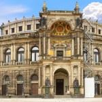 Opera House of the Saxon State Opera ,Dresden — Stock Photo