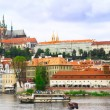 View  of Old Town. Prague, Czech Republic. - Foto de Stock