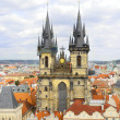 Stock Photo: Church of Our Lady -Staromestska Square, Prague