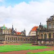 Zwinger Palace (Der Dresdner Zwinger) in Dresden - Stock Photo