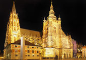 Catedral de san vito, vaclav y voiteha.prague — Foto de Stock