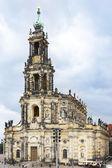 Dresden Frauenkirche (Church of Our Lady) Dresden — Stock Photo