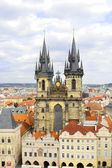 Church of Our Lady -Staromestska Square, Prague — Stock Photo