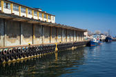 Harbor dock — Stock Photo