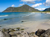 Playa de noruega — Foto de Stock