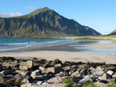 Norway beach — Stock Photo