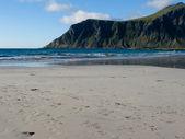 Norwegia plaży — Zdjęcie stockowe