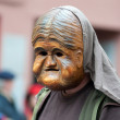 Mask parade at the historical carnival in Freiburg, Germany — Foto de Stock