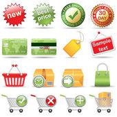 Online Store — Stock Vector