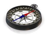 Compass on white — Stock Photo