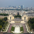 Paris,view from Eifell tower - Stock Photo