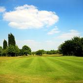 Golf parc, yorkshire, royaume-uni — Photo