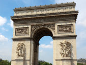 Arc de Triomphe in Paris, France. — Stock fotografie
