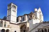 Basilica of San Francesco, Assisi — Foto Stock