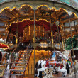 Stock Photo: Old fashioned carousel