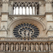 Details of Notre Dame de Paris — Stock Photo