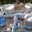Foto de Stock  : Oil industry equipment installation