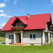New single family home - Stock Photo