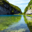 Stock Photo: Breathtaking Plitvice Lake, Croatia