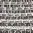 White chairs — Stock Photo