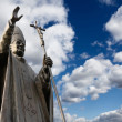 Statue of Pope John Paul II — Stock Photo #5474584