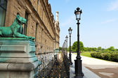Muzeum louvre, paryż — Zdjęcie stockowe