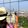 Stock Photo: Tourist in Paris