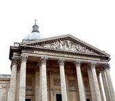 Pantheon in Paris on white background — Stock Photo