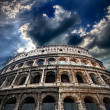 Stock Photo: Colosseum, flaming arena