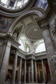 Inside the Pantheon in Paris, France — Stock Photo