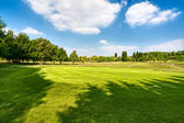 Golf course — Fotografia Stock