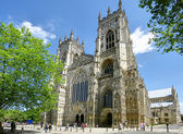 York Cathedral with blue sky — Stock Photo