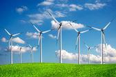 Windenergie — Stockfoto