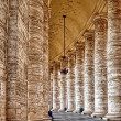 Antique columns - Stock Photo