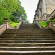 Stairway to Nottingham castle - Stock Photo