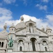 Sacre Ceure cathedral, Paris - Stock Photo