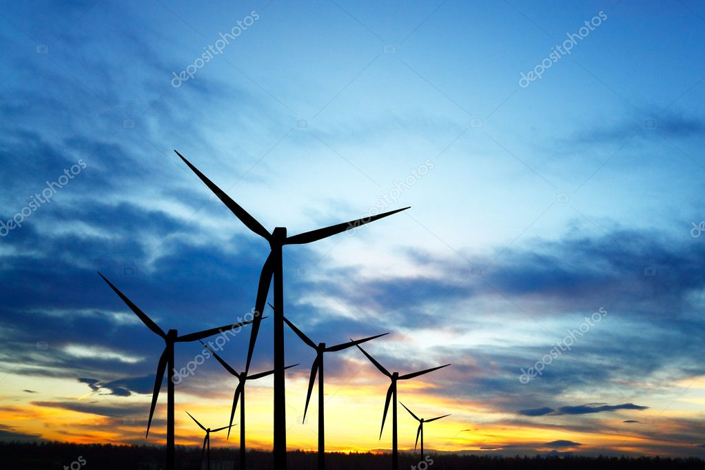 Wind Power  Stock Photo #5825090