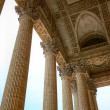 Pantheon columns, Paris — Stock Photo