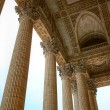 Stock Photo: Pantheon columns, Paris