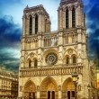 Stock Photo: Cathedral of Notre-Dame