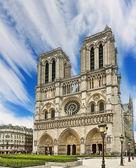 Notre dame Katedrali - paris — Stok fotoğraf