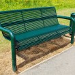 Stock Photo: The Park Bench