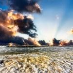 Sunrise over Sea — Stock Photo