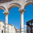 Roman architecture in Split, Croatia — Photo